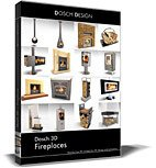 DOSCH 3D: Fireplaces